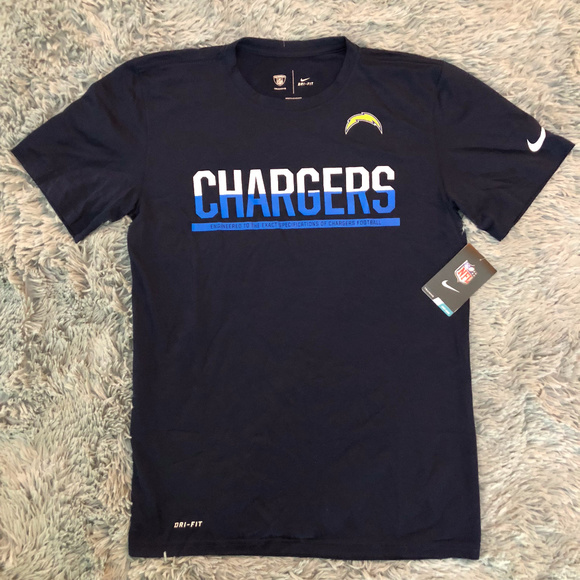 6d55676c NFL San Diego Chargers Dri-Fit Training Equipment NWT